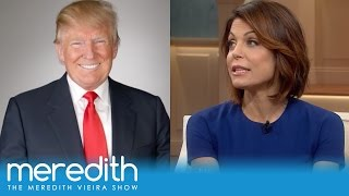Bethenny Frankel's Run-In With Donald Trump   The Meredith Vieira Show