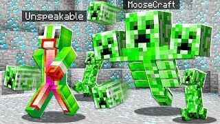 10 WAYS TO PRANK UNSPEAKABLE'S HOUSE in MINECRAFT!