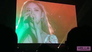 [FANCAM] 181110 ROSÉ - 'SOLO STAGE' Live in Seoul (Display ver.)