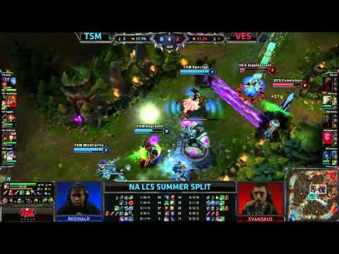 Wildturtle Caitlyn snipe ace in the hole (half map) || TSM vs Velocity || NA LCS Summer 2013 W2D1 HD