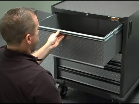 Gladiator Installation - Gearbox Drawers or Gearbox Cabinets - YouTube