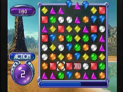 Bejeweled Plug & Play TV Game (Dazzle Test Recording)
