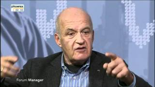 Forum Manager: dm-Gründer Götz Werner