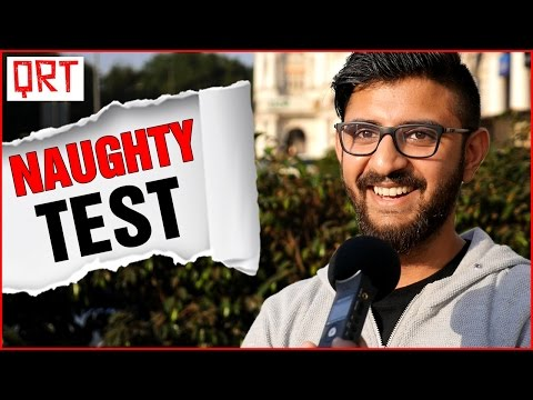Thumbnail: DOUBLE MEANING HINDI IQ TEST in India | 2017 Hilarious Comedy Videos | Quick Reaction Team