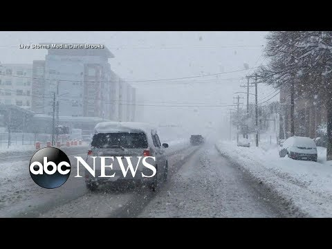 Powerful storm targets Midwest, Northeast