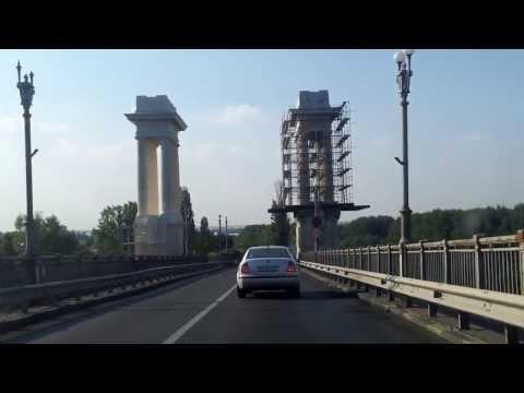 Traversarea Podului de la Ruse(bulgaria) la Giurgiu-Romania 2013