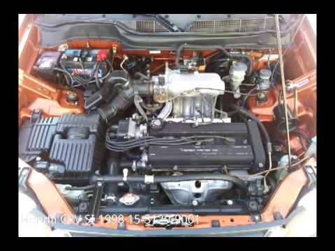 Honda Civic Wiring Diagram Honda Crv 1998 Impecable Youtube
