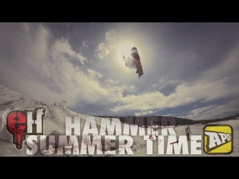 EHschool hammer summer time in Les 2 Alpes 2012
