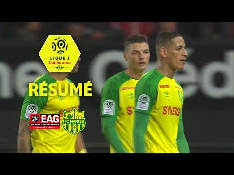 EA Guingamp - FC Nantes (0-3)  - Résumé - (EAG - FCN) / 2017-18