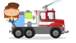 ДОКТОР МАШИНКОВА и Пожарная машина 🚒. Мультики про машинки. #Машинкова 🚖