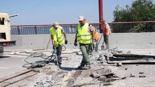 Ремонт Центрального мосту в Дніпрі - 2