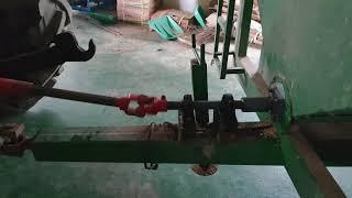 곡물적재함 PTO 스크류식 배출 트랙터 견인