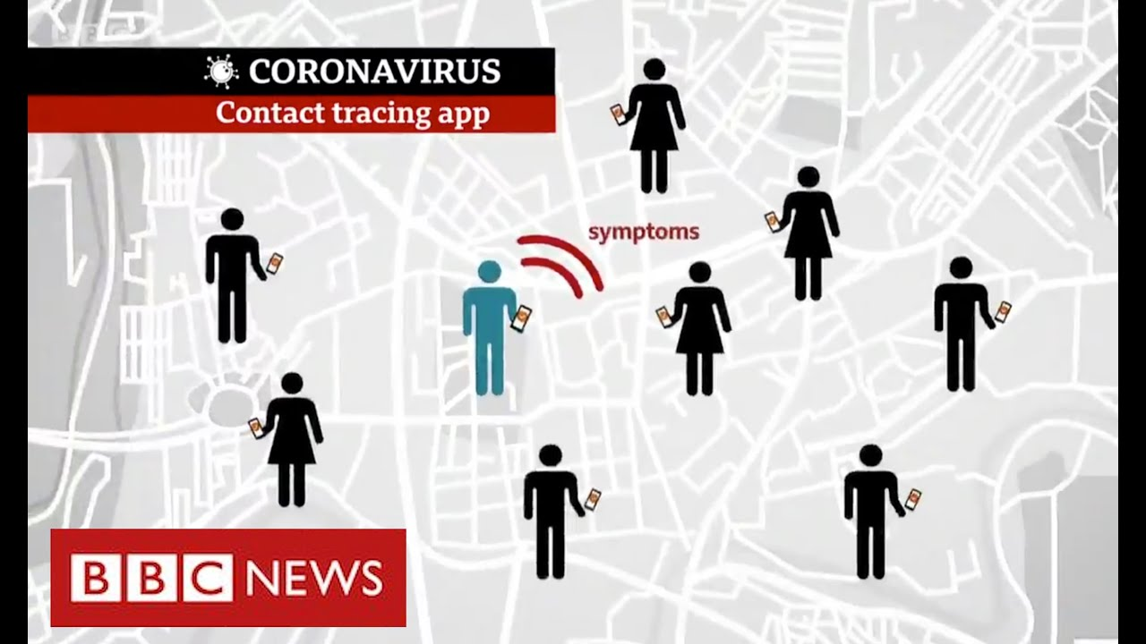 Coronavirus: trial of mobile app to track infections - BBC News