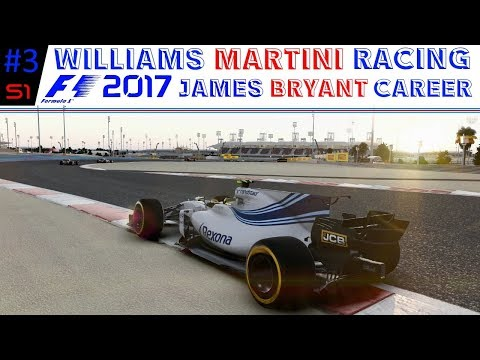 F1 2017 | James Bryant Career Mode Series | #3 Bahrain | (S1:E3) | MIXED RESULTS!!