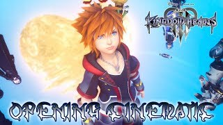 KINGDOM HEARTS 3 - Full Opening Cinematic @ 1440p ᴴᴰ ✔
