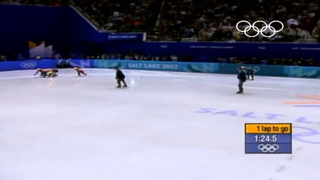 If Australians Commentated Olympic Speed Skating