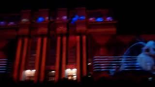 Новогодние лазерное шоу в Самаре