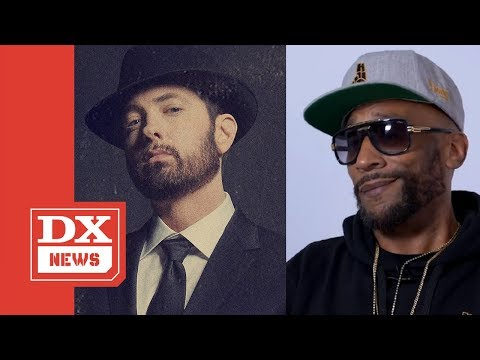 Lord Jamar Calls Eminem 'B*tch A**' & 'Trailer Park Sh*t' Over 'Music To Be Murdered By' Diss