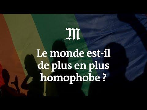 Le monde est-il de plus en plus homophobe ?