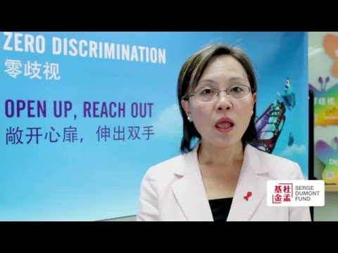Interview of FanYuhua, UNAIDS in English