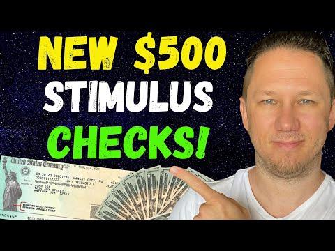 NEW $500 STIMULUS CHECKS!! Fourth Stimulus Check Update Today 2021 & Daily News