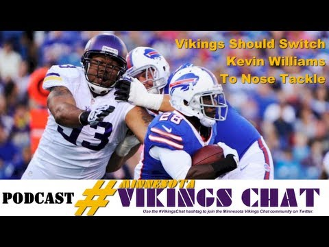 Why The Vikings Should Switch Kevin Williams To Nose Tackle