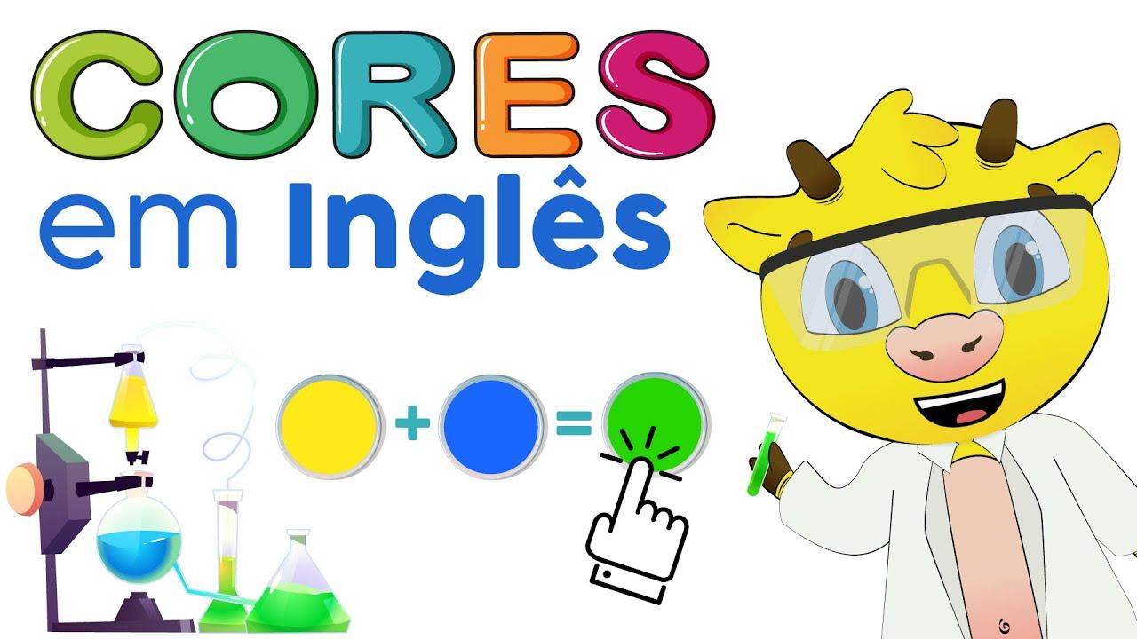 As Cores em Inglês | Aprender as Cores em Inglês
