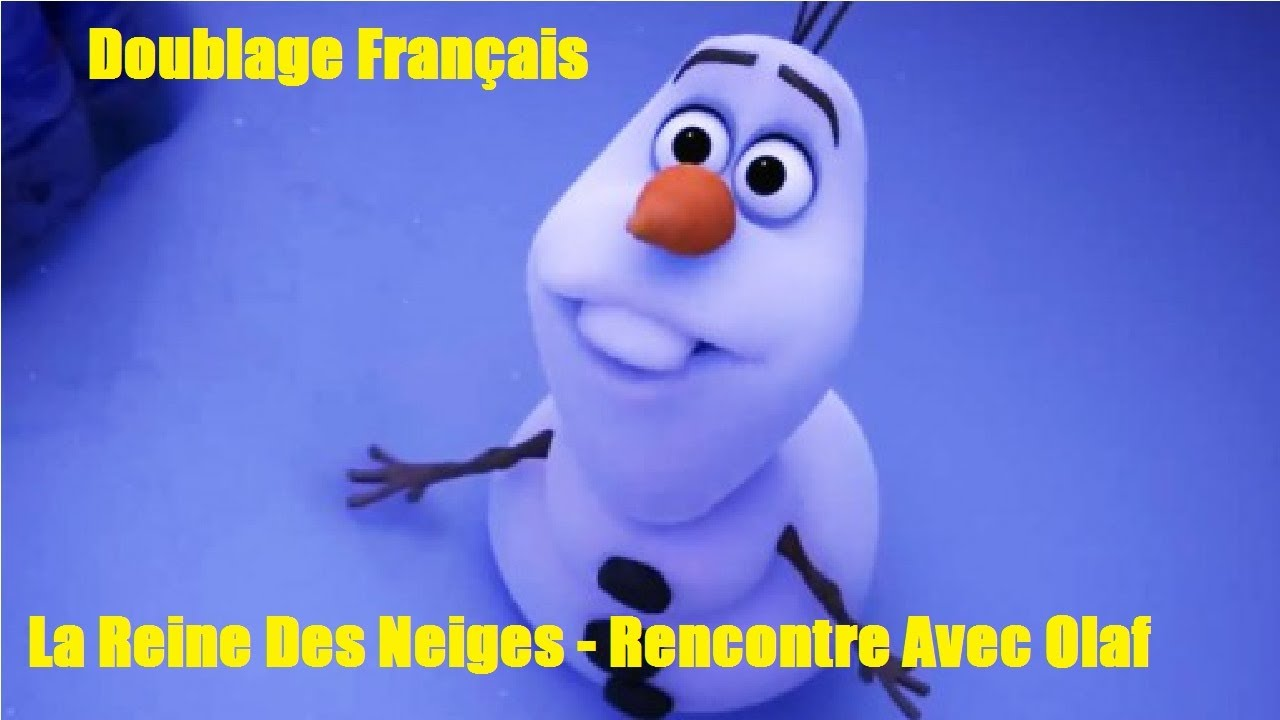 la reine des neiges rencontre avec olaf french fandub youtube. Black Bedroom Furniture Sets. Home Design Ideas