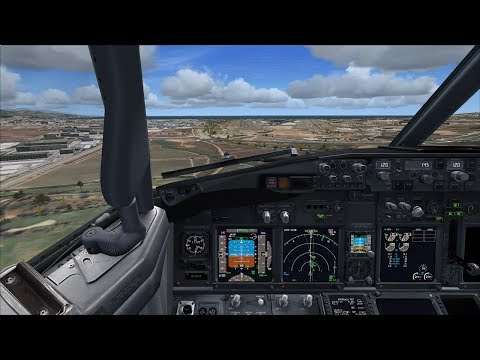 Sunday stream | Malaga LEMG - Haugesund ENHD -  Alicante LEAL | PMDG 737-800 | See description