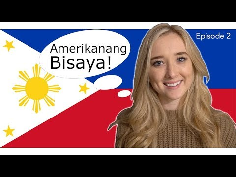 AMERIKANONG BISAYA - Americans Pronounce Filipino Words