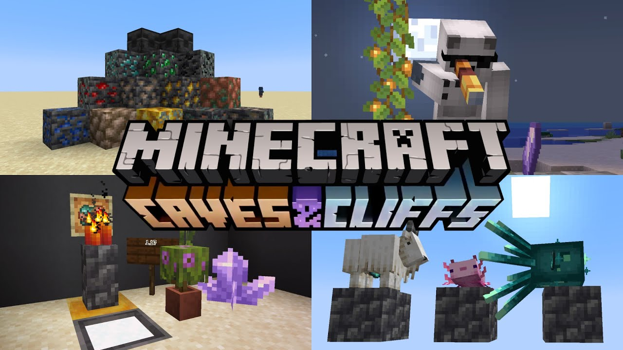 Minecraft 1.17 Caves & Cliffs update features, additions, and more ...