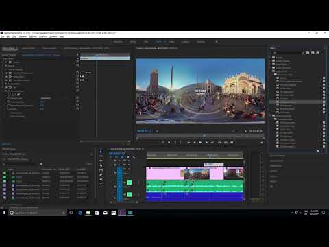 Immersive Video: 360/VR in Premiere Pro (October 2017) | Adobe Creative Cloud