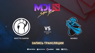 Invictus Gaming vs NewBee, MDL Macau CN Quals, bo3, game 2 [Lum1Sit & 4ce]
