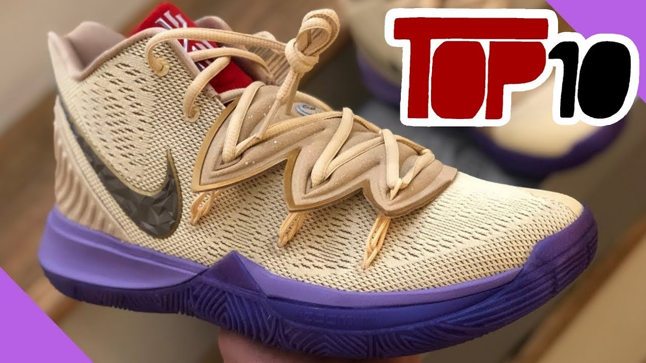 Top 10 Nike Kyrie 5 Shoes Of 2019 - YouTube