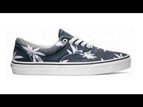809c7d3d9b Shoe Review  Vans Van Doren  Palm Leaf  Era (Navy) - YouTube