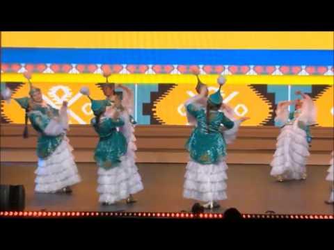 Kazakhstan Performance Traditional Folk Dance #IFLC2016