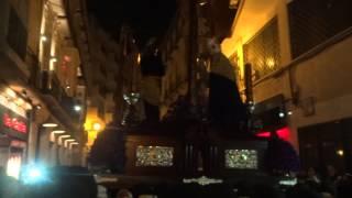 Semana Santa de Málaga 2014. Lunes Santo. Cofradía Dolores del Puente (5)