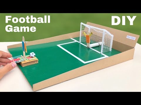How To Make Amazing Football Game - Penalty Football Board GAME