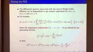 Mathematical Models in Population Genetics III