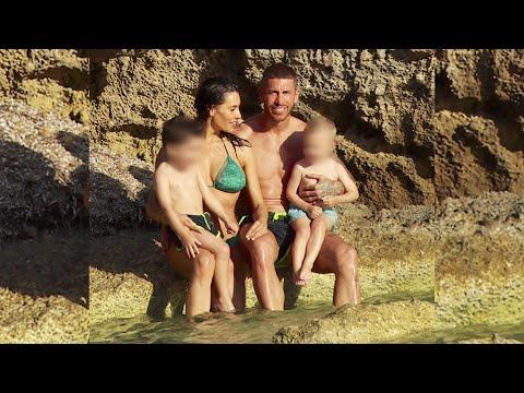 Pilar Rubio y Sergio Ramos disfrutan de sus vacaciones en familia