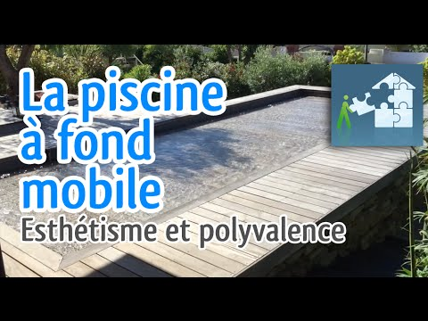 fond mobile piscine la terrasse qui s 39 enfonce dans l 39 eau youtube. Black Bedroom Furniture Sets. Home Design Ideas
