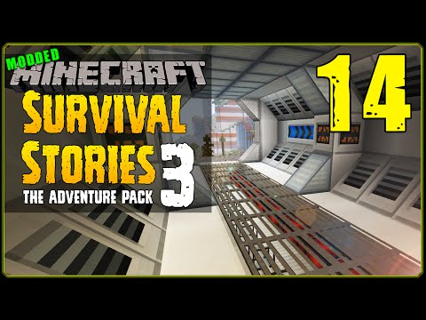 Minecraft Modded   Survival Stories 3 3 [S1E14] - Laboratory Evolution!