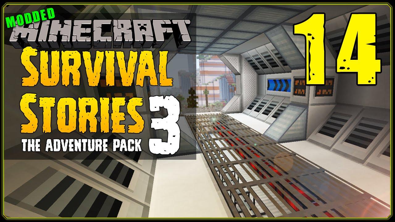 Minecraft Modded Survival Stories 3 3 S1e14 Laboratory