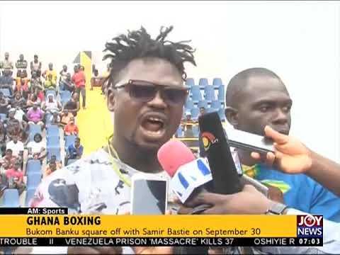 Ghana Boxing - AM Sports on JoyNews (18-8-17)