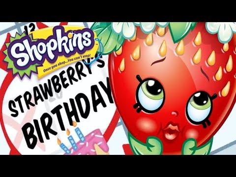 SHOPKINS - FORGOTTEN BIRTHDAY | Cartoons For Children | Toys For Kids | Shopkins Cartoon Compilation