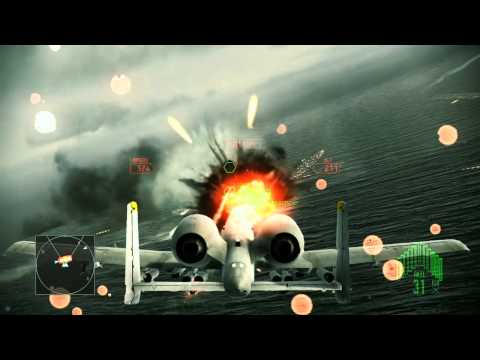 Ace Combat Assault Horizon :: (Mission 10) Hostile Fleet :: (HD) :: Difficulty Elite