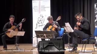 33rd Volos International Guitar Festival - Andronoglou Y., Mitsalas T, Toumanidis M.