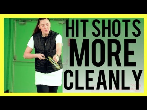 HIT SHOTS MORE CLEANLY - Badminton Tips from a 2x Olympian Pro Player | Better Badminton