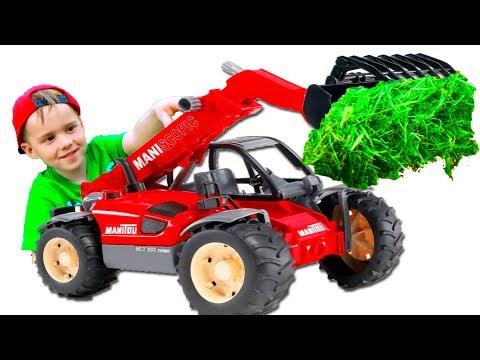 #Машинки Трактор Погрузчик