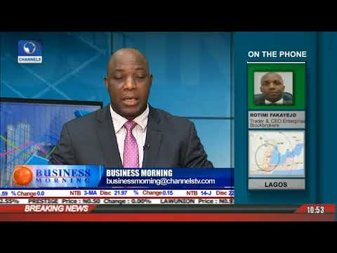 Outlook On New Trading Week In Nigeria's Equities Market  l Business Morning l